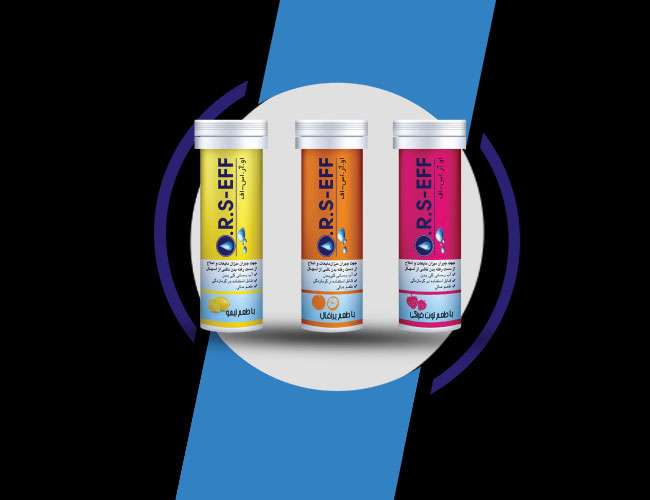 ORS-EFF effervescent tablets to compensate for dehydration